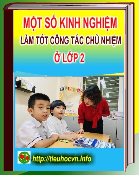Một số biện pháp làm tốt công tác chủ nhiệm ở Lớp 2 ở trường tiểu học